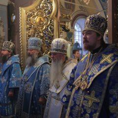 Епископ Алексий принял участие в Божественной литургии в день празднования Знаменского образа Божией Матери в Верхнем Тагиле