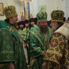 Преосвященный Алексий принял участие в праздничной архиерейской литургии в день празднования Симеона Верхотурского