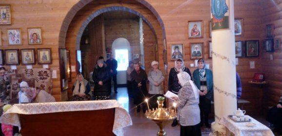 В ивдельском храме святых Новомучеников Российских возобновились занятия взрослой воскресной школы