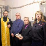 Священник Североуральска посетил изолятор временного содержания заключённых
