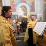 Преосвященный Алексий совершил Всенощное бдение в соборе во имя преподобного Максима Исповедника