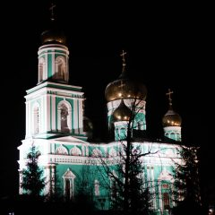 Архиерейское богослужение в Новогоднюю ночь