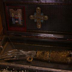 Преосвященный Алексий принял участие в Литургии в Свято-Троицком кафедральном соборе города Алапаевска