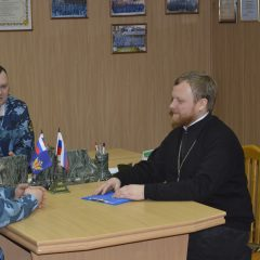 Руководитель Тюремного служения Серовской епархии посетил исправительные учреждения Ивделя