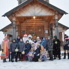 Рождественский квест воскресной школы Никольского храма Волчанска