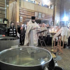 Праздник Крещения Господня в Новой Ляле