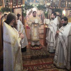 Преосвященный Алексий совершил литургию в Черёмухово
