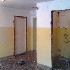 В помещении будущего храма на Сортировке начались ремонтные работы