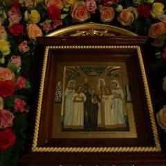 Сонм архиереев совершил Божественную литургию в Храме на Крови в день Собора новомучеников и исповедников Церкви Русской