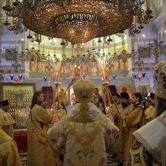 В праздник Собора Екатеринбургских святых состоялось торжественное богослужение в Александро-Невском Ново-Тихвинском женском монастыре