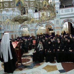 Торжественный акт, посвященный 134-летию Екатеринбургской епархии, прошел в уральской столице
