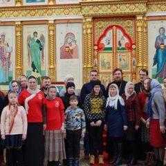 В кафедральном соборе прошла встреча епископа Алексия с молодежным активом Серовской епархии