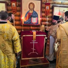 Епископ Алексий совершил Литургию в Североуральске