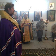 Епископ Алексий совершил Парастас в Полуночном