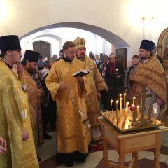 Владыка Алексий возглавил Литургию в Пелыме