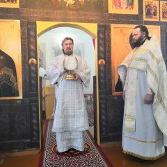 Епископ Серовский и Краснотурьинский Алексий совершил литургию в посёлке Павда