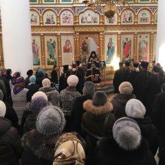 Епископ Алексий возглавил вечерню с чином прощения в Спасо-Преображенском кафедральном соборе