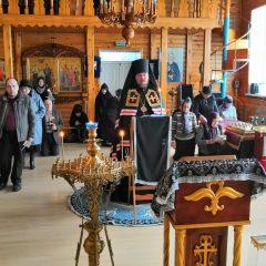 Епископ Алексий совершил чтение Великого покаянного канона преподобного Андрея Критского в Свято-Пантелеимоновском женском монастыре