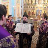 Епископ Алексий возглавил полиелейную утреню в честь иконы Божией Матери, именуемой «Державная»