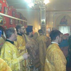 Преосвященный Алексий совершил Литургию в день памяти священномученика Ермогена