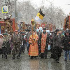 В общегородском крестном ходе и Пасхальном празднестве в Екатеринбурге приняли участие более 20 000 человек