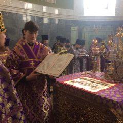 Владыка Алексий возглавил богослужение в годовщину своей епископской хиротонии