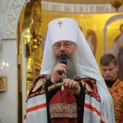 «Выбираем Христа или разбойника Варавву?»: митрополит Кирилл – о ситуации с храмом небесной покровительницы города