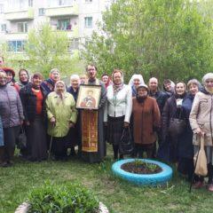 В общине во имя святого апостола Луки состоялся первый молебен