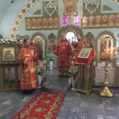 Епископ Алексий совершил литургию в Карпинске