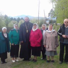 Престольный праздник в пос.Павда в храме святителя Николая Чудотворца