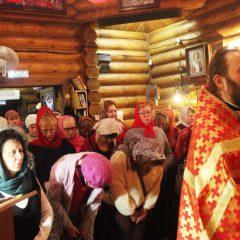 Пасхальная ночь в Георгиевском Храме Североуральска