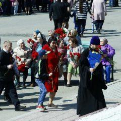 День Победы в городе Ивдель