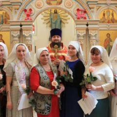 Первое в истории Серовской епархии посвящение в сестры милосердия