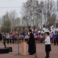 Епископ Алексий принял участие в параде Победы в Карпинске