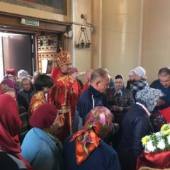 Епископ Алексий совершил всенощное бдение в Краснотурьинске