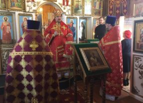Епископ Алексий совершил Литургию в посёлке Сосьва