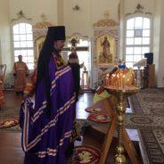 Епископ Алексий возглавил соборное богослужение в Североуральске
