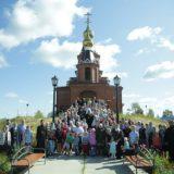 Митрополит Кирилл и епископ Алексий совершили Божественную литургию в Преображенском храме поселка Пелым