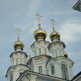 Митрополит Кирилл, епископ Евгений и епископ Алексий совершили всенощное бдение в Петропавловском храме города Североуральска