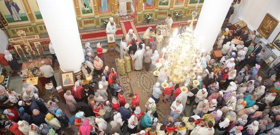 Архиерейское богослужение в день празднования Преображения Господня