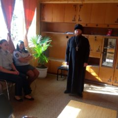 Иерей Сергий Михалёв провёл беседу с сотрудниками правоохранительных органов