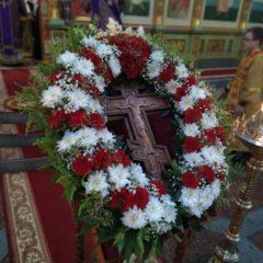 Епископ Алексий совершил всенощное бдение в Спасо-Преображенском кафедральном соборе