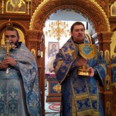 Епископ Алексий совершил Литургию в Свято-Пантелеимоновском монастыре