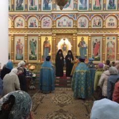 Епископ Алексий и епископ Гедеон совершили Литургию в день празднования Успения Пресвятой Богородицы