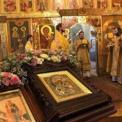 Епископ Алексий совершил Божественную литургию в Вознесенском архиерейском подворье