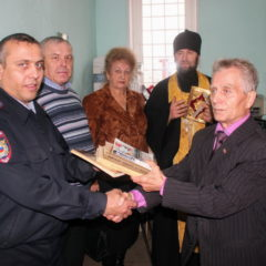 Священник Североуральского Храма и члены наблюдательного совета при ОВД, посетили изолятор временного содержания заключённых