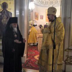 Епископ Алексий совершил Литургию в Свято-Дмитровском больничном храме в Москве