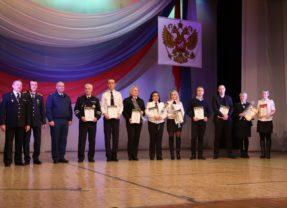 В Североуральске прошёл торжественный вечер в честь Дня полиции