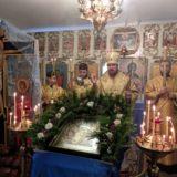 Епископ Алексий совершил всенощное бдение в канун дня памяти святителя Димитрия, митрополита Ростовского