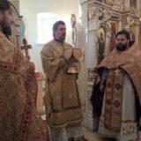 Епископ Алексий совершил Литургию в день памяти святителя Димитрия, митрополита Ростовского
